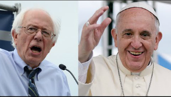 Is Pope Francis going to endorse...BERNIE SANDERS?!