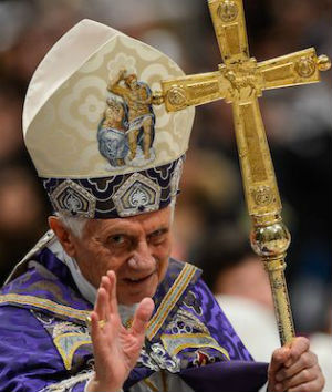 Quest for God is modern world's biggest challenge, Pope Emeritus Benedict XVI says