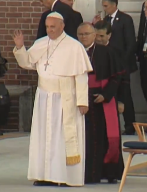 Pope Francis' address at Independence Mall focused on unity and immigration