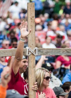 Standing with God: Thousands stand up for a traditional marriage and pro-life America