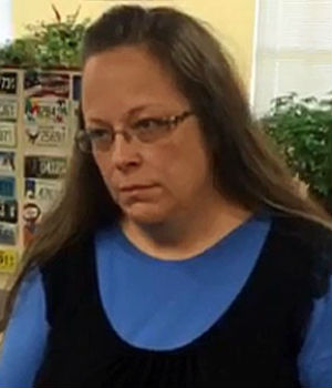 Kentucky Clerk jailed for refusal to marry same-sex couples