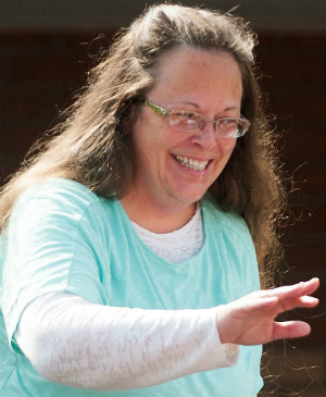 Did Kentucky Clerk Kim Davis have a private meeting with Pope Francis?
