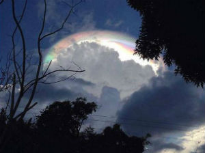 'It's like a sign of God': Costa Rican community amazed by unusual cloud formation