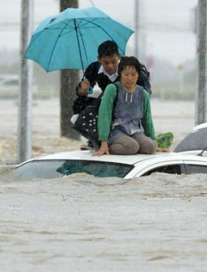 Japan hit with massive flood following Typhoon Etau