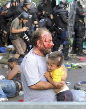 Hungarian officials approved for weapon use against migrants