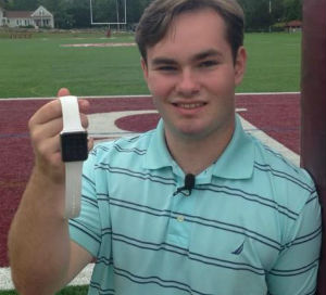 Apple watch credited for saving teen's life