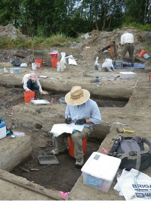 10,000 year old prehistoric tools found near excavation site in Redmond
