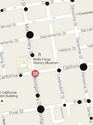 Interactive map gives users a 'blast from the past' of Old San Francisco