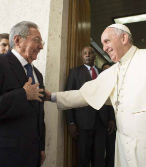 A gift to the Pope - Cuba to release 3,500 prisoners ahead of Pope Francis' visit