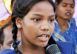Image of Eighteen-year-old Rekha Kalindi remembers the time she was 11 years old and brutally beaten by her mother when she refused to submit to marriage with an older man. Today, Kalindi is speaking out against the practice of child marriage,
