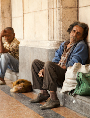 Cuba's homeless mysteriously vanish prior to the papal visit
