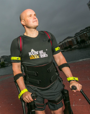 Never Lost Hope: Blind and paralyzed man walks again