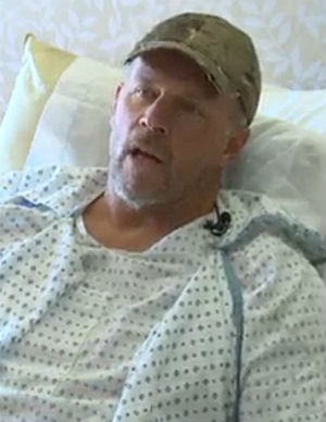 'My prayers were answered': The story of how one stranded hunter broke legs and fought to survive