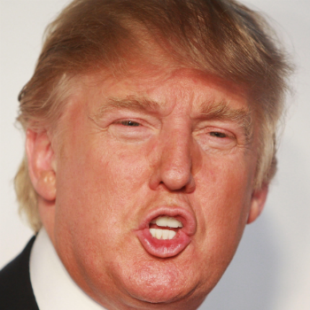 Donald Trump's head, specifically his head, is now worth $100 million