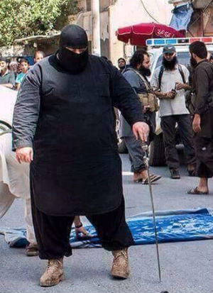 Fat ISIS member called 'The Bulldozer' earns most feared executioner in ISIS
