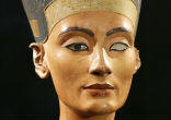 Image of Queen Nefertiti, whose name means,