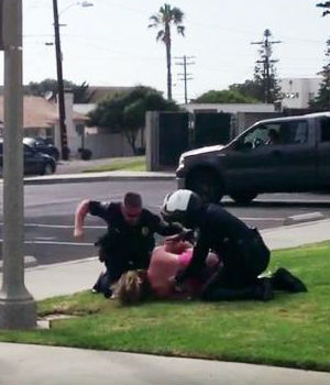 California mother punched in the face by police files lawsuit