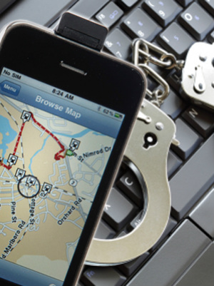 Police track criminals with planted GPS devices