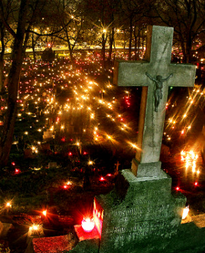Halloween All Saints Day All Souls Day