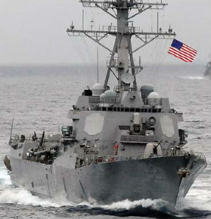 China demands US take responsibility for sailing through South China Sea