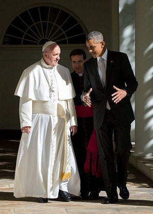President Obama shares how Pope Francis's visit to the U.S. makes him want to be better