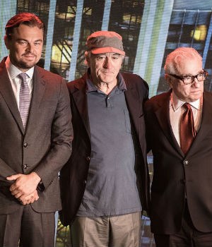 Three Hollywood greats meet in Macau - but not for gambling