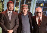 Image of Three Hollywood greats - actors Leonardo DiCaprio and Robert De Niro, along with superstar director Martin Scorsese met at the Chinese gambling Mecca of Macau - but it was not for gambling.