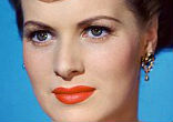 Image of Maureen O'Hara, a fiery Irish redhead who featured prominently in countless classic American films was dubbed the