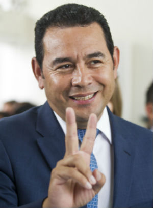Guatemala's corruption reaches all-time high: Can a comedian save them?