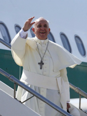 Pope Francis' visit will be his first time in Mexico.