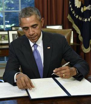 Obama uses veto for FIFTH time, shutting down defense authorization bill