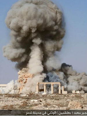 ISIS destruction of Palmyra temple infuriates world community