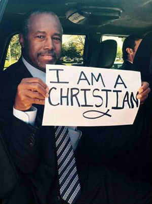 #IAmaChristian: Ben Carson honors the Oregon shooting's fallen students
