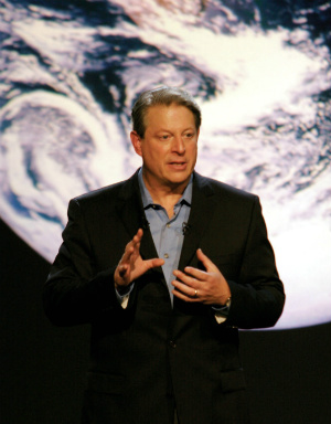 Climate Talk: Al Gore spreads the environmental gospel