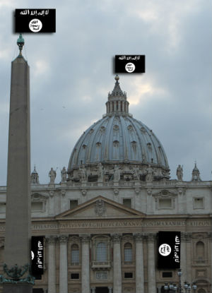 ISIS targets Vatican -Italy's U.S. Embassy warns American travelers to stay away