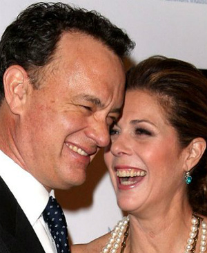 Movie star Tom Hanks shares the secret to a successful marriage in a heartwarming interview