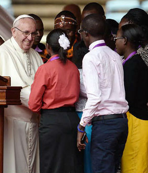 FULL TEXT: Pope Francis speaks to Kenyan youth, and how to avoid terrorist recruitment