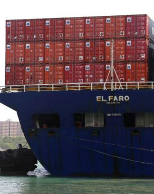 El Faro finally discovered - beneath 15,000 feet of water