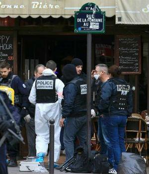 SHOCKED eyewitness describes terrorist attacker in Paris onslaught