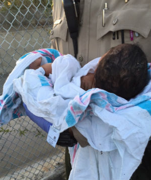 MIRACLES DO HAPPEN: Days-old baby girl buried alive pulled to safety in California