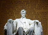 Image of The Lincoln memorial in Washington, DC