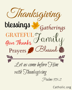 Your Daily Inspirational Meme: Thanksgiving blessings