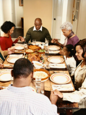 Come together this Thanksgiving with a beautiful prayer