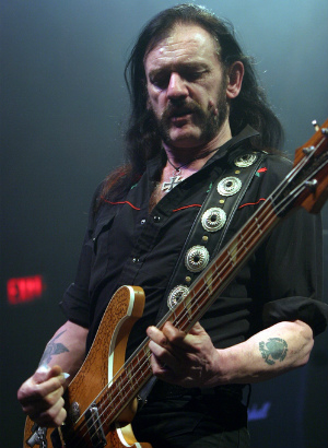 FIERCE rock singer who in reality was a nice guy, Lemmy of Motorhead, dies of cancer