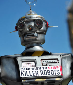 BEWARE: Vatican speaks out against remote, 'killer robots'