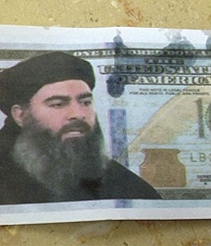 NOT-SO FUNNY MONEY: Weird currency in Israel collages American $100 bills with jihadist leaders