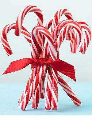 The candy cane's humble origins: Do YOU know the sweet treat's story?