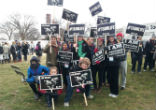Image of Rough weather didn't deter marchers in the annual March for Life this year.