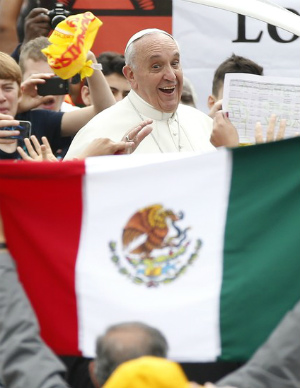 What can we expect during Pope Francis' visit to Mexico?
