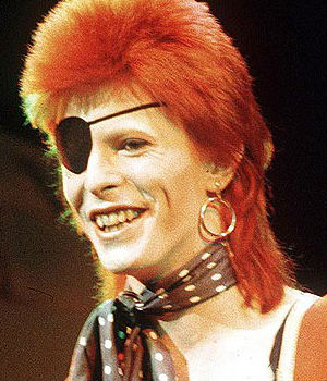 Bowie was a pop and folk singer until he hit upon the notion of Ziggy Stardust, a flamboyant, androgynous figure from another world in 1972. 'The Rise and Fall of Ziggy Stardust and the Spiders from Mars' excited, confounded, and intrigued the public, and a star was born.